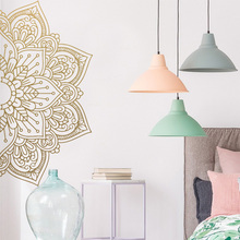 Mandala Vinyl Wall Sticker Art Decals For house Rooms Decoration Meditation Yoga Decal Creative Stickers Home Decor Wallpaper стоимость