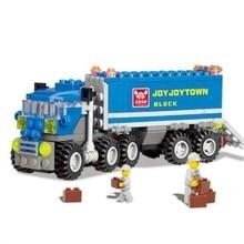 163 шт. Legoings, деформированный грузовик, строительные блоки, игрушечный набор, развивающие игрушки для детей, подарки на Рождество, день рождения