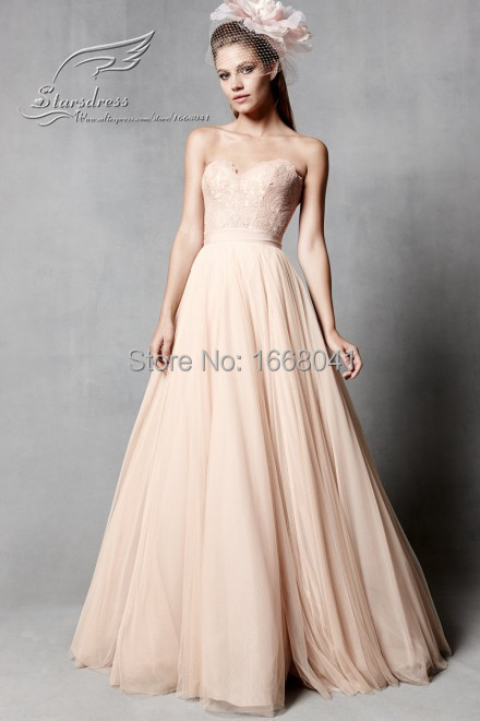 2016 fashion a line floor length sweetheart beautiful for Real simple wedding dresses