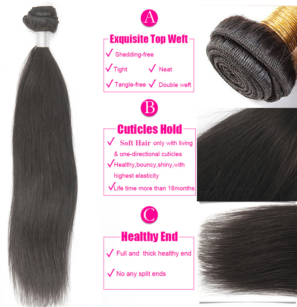 soft human hair shop straight hair