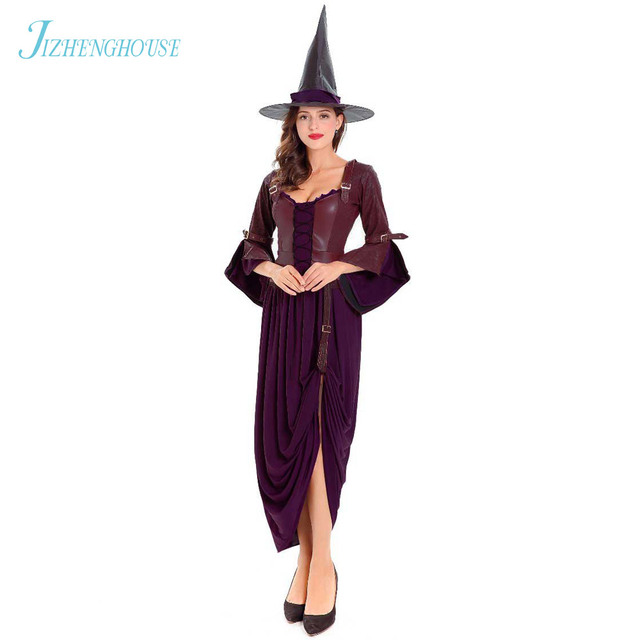 d02e592cc9d JIZHENGHOUSE Witch Costumes For Women Adult Womens Magic Moment Costume Fly Witch  Costume Sexy Halloween Costumes