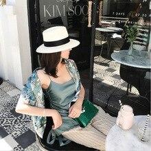Green Jungle Scarf Women 14m/m Pure Silk Scarves Bandana 90*90cm Shawls Wraps Headband Hairband цена и фото