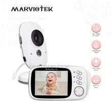 Bezpieczeństwo w domu 3.2 cal niania elektroniczna Baby Monitor o wysokiej rozdzielczości dla dzieci ukryta kamera niania kamera ochrony bezprzewodowe noktowizor monitorowanie temperatury