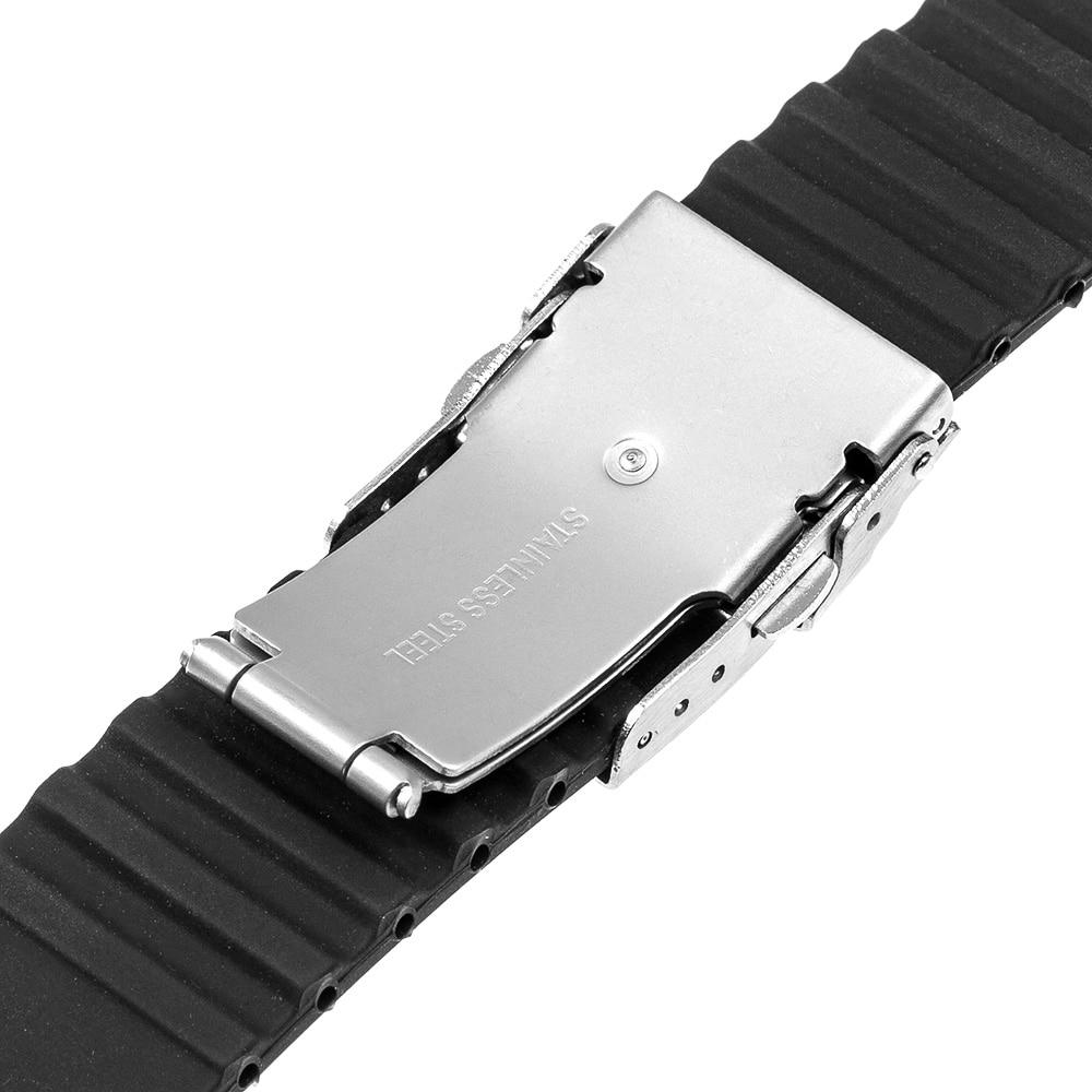 Silikonegummi urbånd til iWatch Apple Watch Series 5 4 3 2 1 - Tilbehør til ure - Foto 4