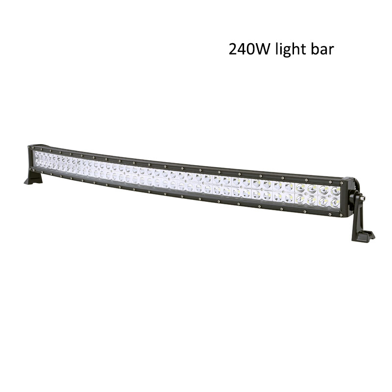 240W led light bar offroad driving headlight 21500lm high