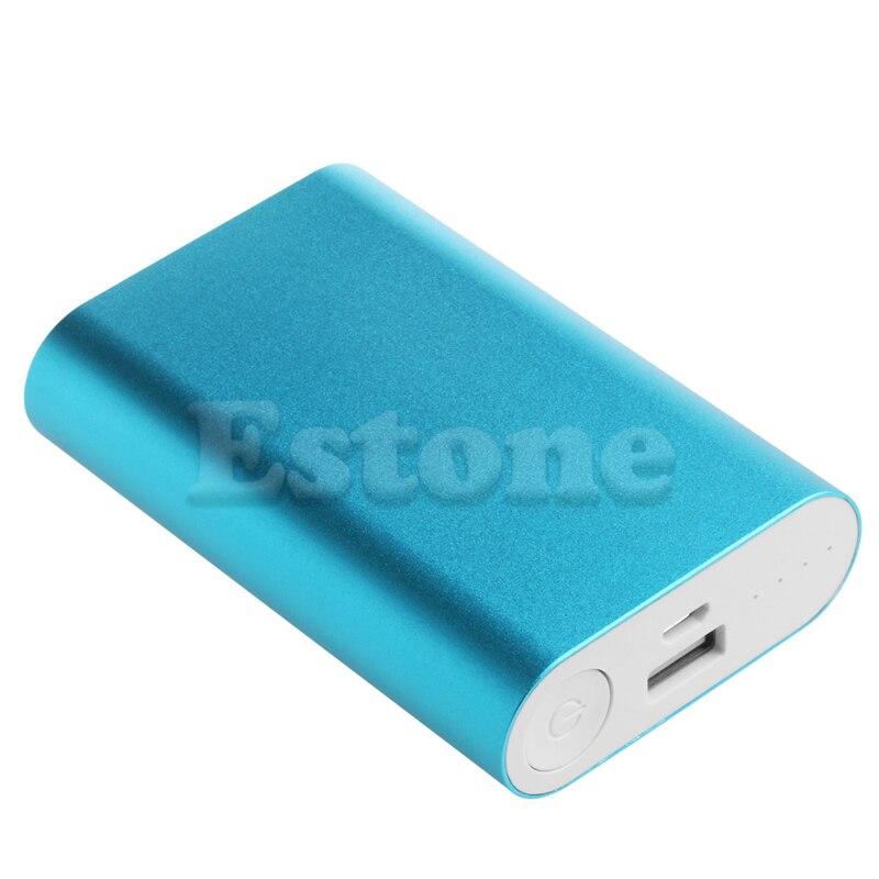 Новая алюминиевая 5 В 2.1A Power Bank Дело Комплект 3X18650 Зарядное устройство Box для сотового телефона Горячий