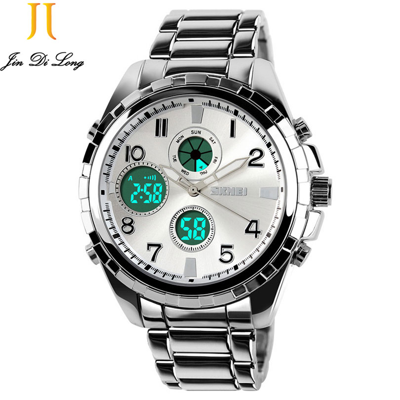 ?New Luxury Men Watches High Quality Mechanical Quartz Electronic Wristwatches Waterproof Noctilucent Sport Watch Reloj Hombre women watches wen reloj hombre sport high quality boys girls students time clock electronic digital lcd wrist sport watch 2