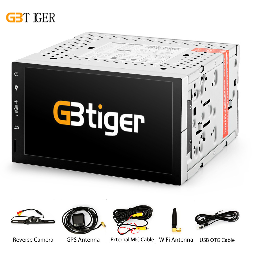 GBtiger DU7073 7inch Touch Screen Andriod 5.1 Built-in GPS Car DVD Player Radio Multimedia System Bluetooth Music Wifi Function gbtiger kit