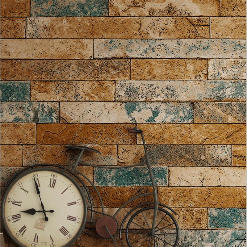 Beibehang 3d Brick Wallpaper Antique Brick Brick Wallpaper Chinese Nostalgic Restaurant Hotel Backdrop Retro Bars 3 d Wallpaper beibehang 3d brick wallpapers antique brick brick wallpaper chinese nostalgia restaurant hotel backdrop retro vintage wallpaper