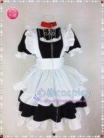 Oreimo Kirino Kosaka Cosplay traje de la criada traje de manga larga falda de Anime Lolita dama falda del vestido nuevo