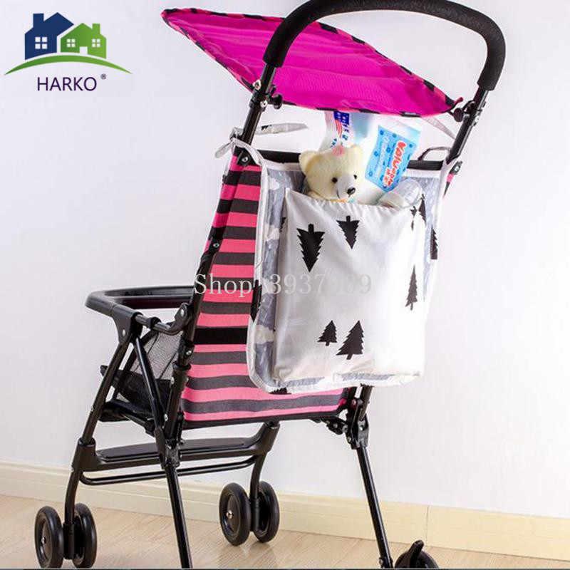 Подвесная для детской коляски корзина для хранения детская кроватка кровать подвесная сумка органайзер для кроватки карман для пеленок аксессуары для коляски