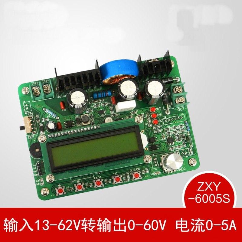 ZXY6005S Высокоточный программируемый цифровой управляемый постоянный ток Регулируемый источник питания понижающий модуль 60 в 5A