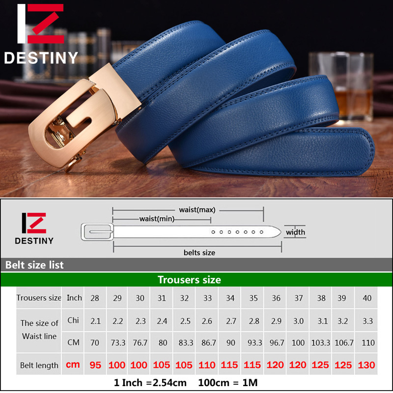 DESTINY Designer Belts Men High Quality Silver Gold G Belt Male Genuine Leather Strap Luxury Famous Brand Wedding Jeans Blue Cow in Men 39 s Belts from Apparel Accessories