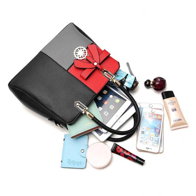 Women Leather Handbags Shoulder Crossbody Bags for Women - Ladies Hand Bag Female Luxury Bag 4