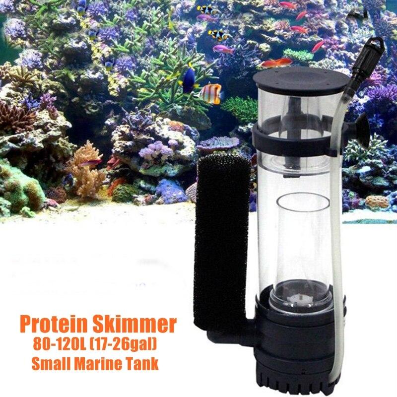 80 120l 17 26gal aquarium protein skimmer with impeller for Aquarium 120l