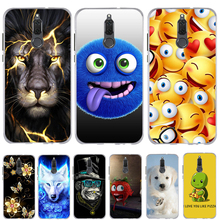 Phone Case For Huawei Mate 10 Lite Case Cover Silicon 3d Sof