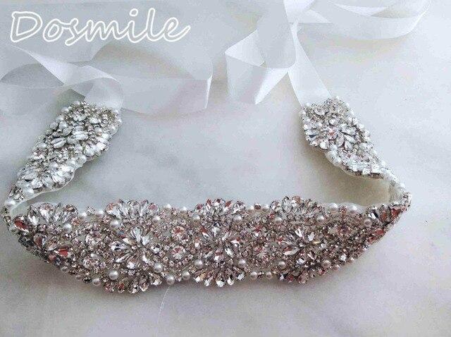Free shipping Wedding bridal belts rhinestone waistband handmade Bridal Sash Vintage formal bridal belt