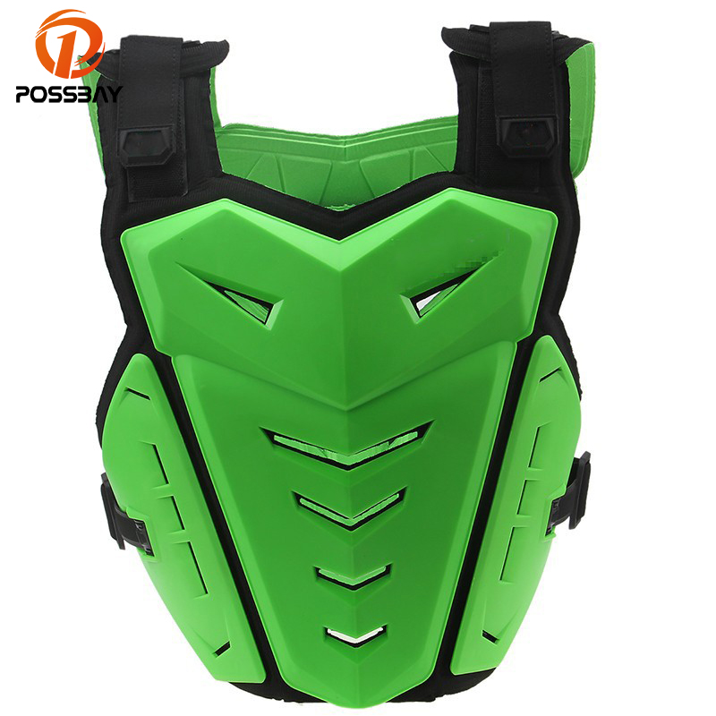 POSSBAY Motocross Off-Road Racing Chest Body Protective Gear Guard Motorcycle Jakets Riding Armor Protector Vest Cafe Racer herobiker armor removable neck protection guards riding skating motorcycle racing protective gear full body armor protectors