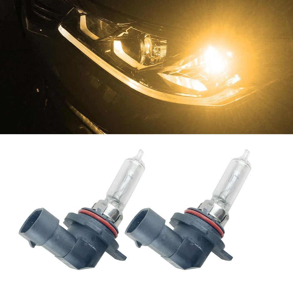 2pcs Car Halogen Headlight 9012 LL HIR2 HIR PX22d 55W 12V 4300K Auto Bulb Lamp Replace Halogen Lamp
