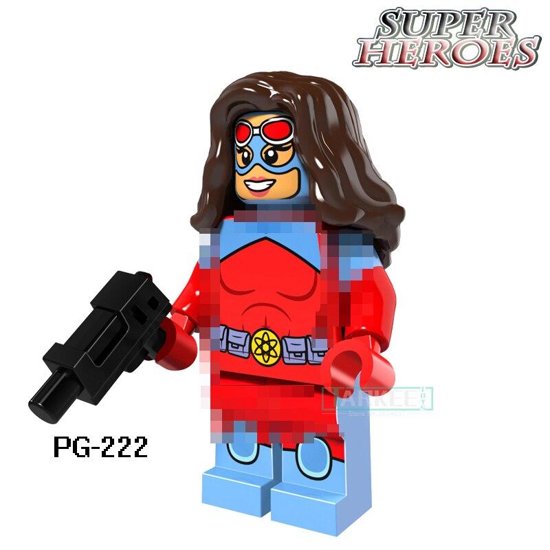 Building Blocks Bricks Dormammu Mister Sinister Cannonball Dark Phoenix Captain America Super Hero Figures Kids DIY Toys PG8059
