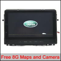 7 Inch Car DVD GPS Stereo Player For Land Rover Discovery 3 2007 2012 With Touch