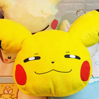 2017 Nuevo Pikachu 50 CM Lindo Cosas de Anime Almohada Cojín de Dibujos Animados Juguetes de Peluche Animales de Peluche Juguetes Para Niños
