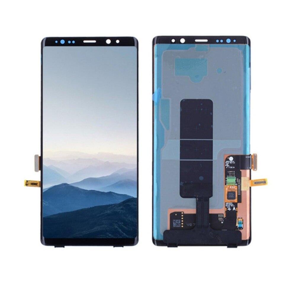 ЖК дисплей Дисплей Сенсорный экран планшета Ассамблеи без рамки мобильного телефона Запчасти для авто для samsung Примечание 8 N950F/N950AVTP