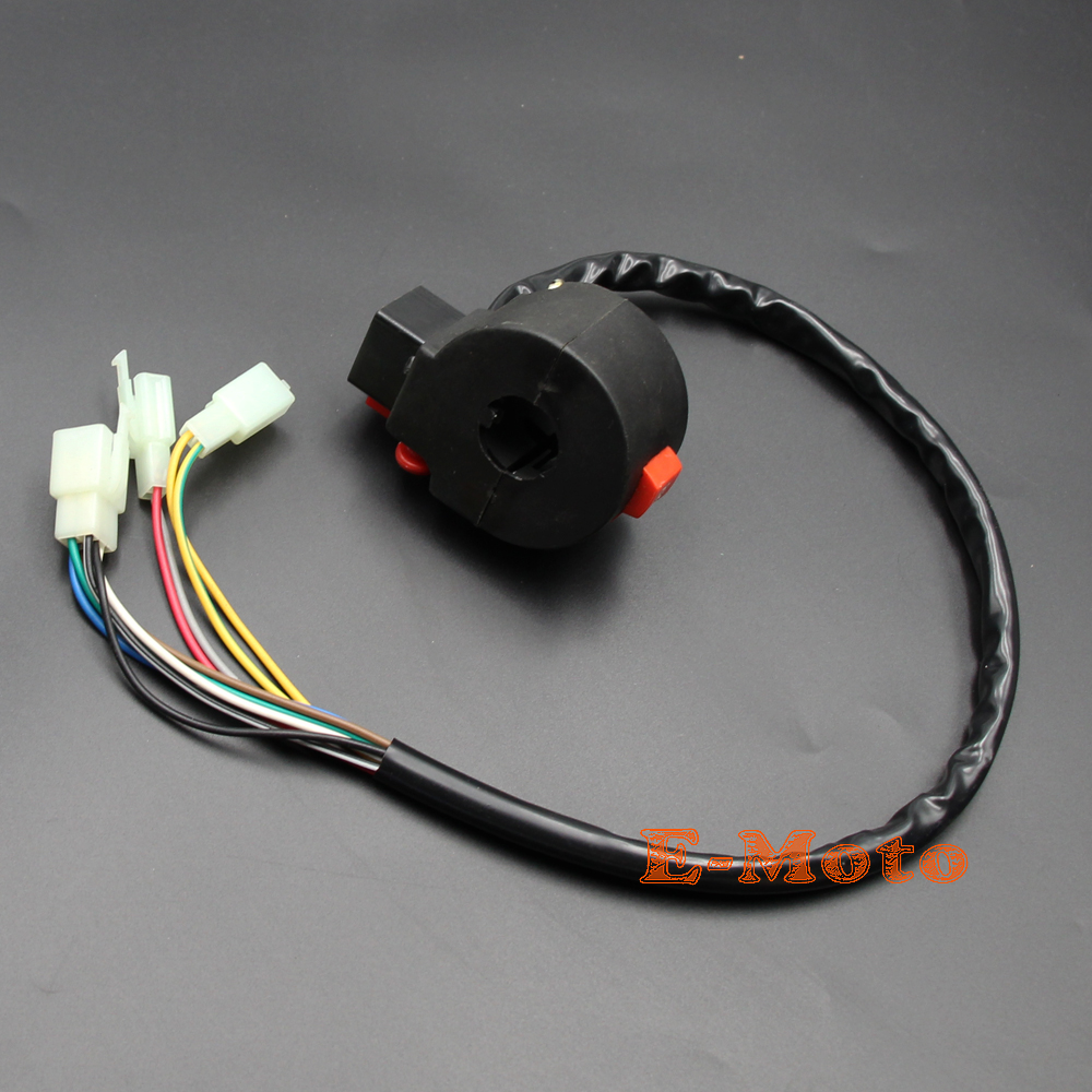 small resolution of 10 wires atv kill starter light horn switch assembly sunl roketa coolster 50cc 70cc 90cc 110cc 125cc new e moto in motorbike ingition from automobiles