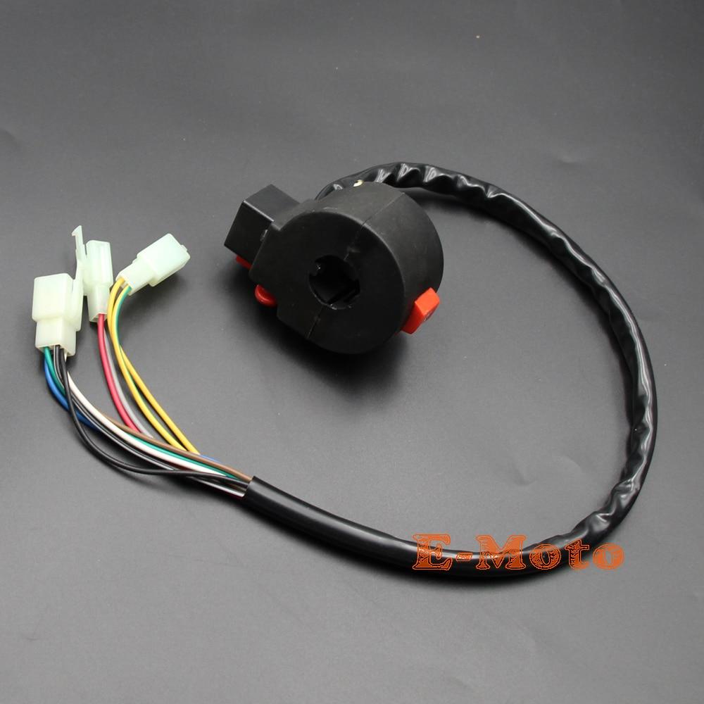 medium resolution of 10 wires atv kill starter light horn switch assembly sunl roketa coolster 50cc 70cc 90cc 110cc 125cc new e moto in motorbike ingition from automobiles