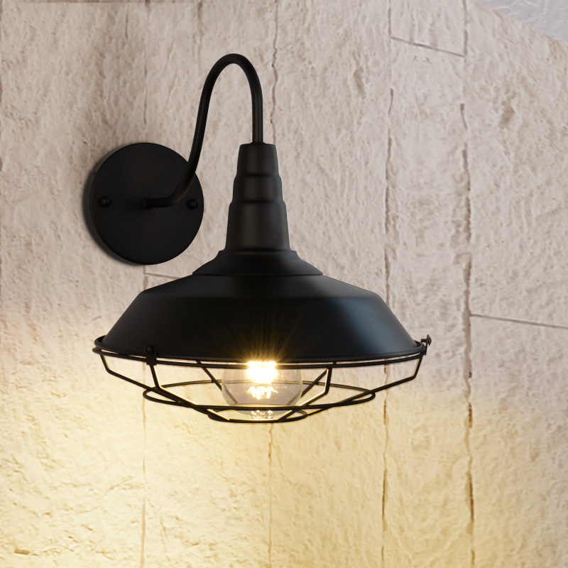 American Indoor Lighting Light Industrial Style Led Warm Lamp Art Deco Lights E27 Lamp Shade Remote Control Down Lamps