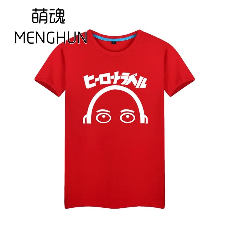 Bir punch man isti yeni animasiya 2017 anime t-shirt Saitama hissi - Kişi geyimi - Fotoqrafiya 6