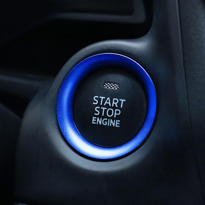 Auto Start motore pulsante sostituire di arresto interruttore a chiave accessori decorazione