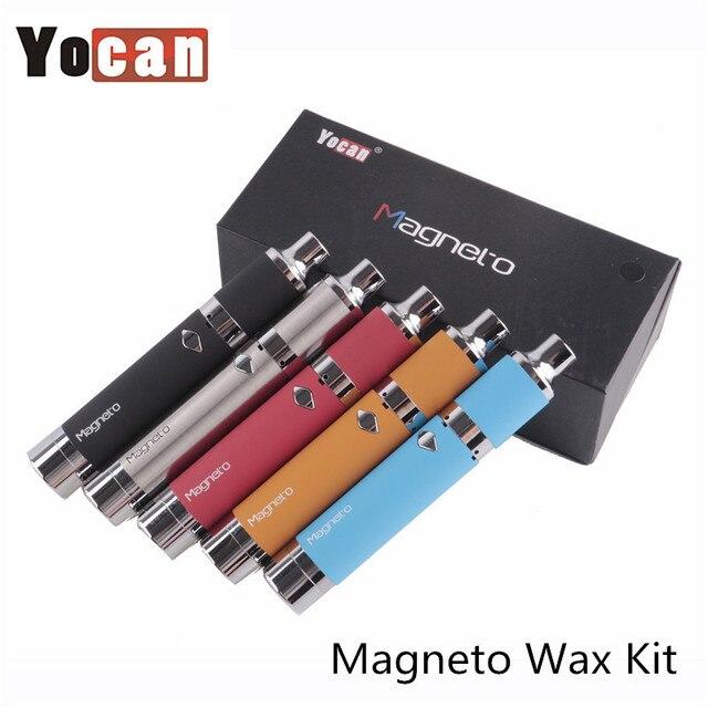 Оригинал Yocan Магнето воск vpae комплект для пера комплекты Магнитная крышки катушки построен с dab инструмент электронная сигарета испаритель комплект