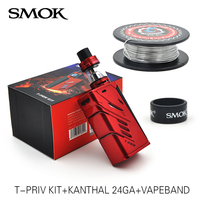 100 Original Smok T Priv Kit With T Priv Box Mod Vape And 5ML TFV8 Big