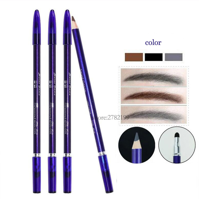 Crayon de sourcils en bois pour maquilla ...