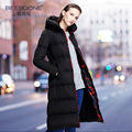 Thickening coat medium-long down female 2017 down coat slim over-the-knee ultra long winter outerwear
