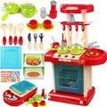 Juguetes de cocina para niños bebé juguetes de cocina vajilla de Cocina caliente juguetes de aprendizaje para niños juegos de imaginación juguetes conjunto TY23