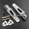 Rear Footrest Foot Pegs For Suzuki GSXR 600 750 2006 2007 2008 2009 2010 2011 2012 2013 2014 Passenger Footpegs Pedals