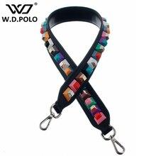 Wdpolo ремешок вы бренд заклепки ручка и ремни сумка Аксессуары ремни для женщин сумки девушка прекрасный подарок z1061