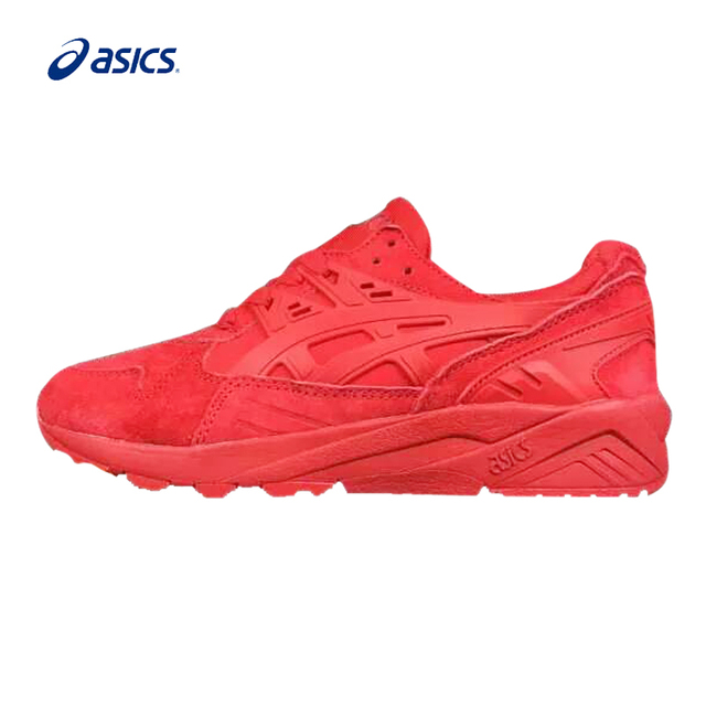 ASICS GEL-Kayano Running Shoes Breathable Stable Outdoor Tennis Red Classic  Sport Shoes Sneakers for Women fed2a06ddf31