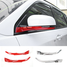 MOPAI ABS Car Interior Rear View Side Rearview Mirror Base Decoration Trim Stickers For Jeep Compass 2017 Up Car Styling
