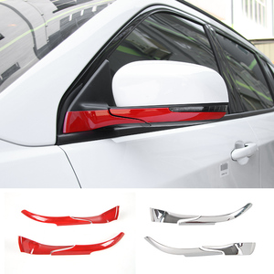 Image 1 - MOPAI ABS Car Interior Rear View Side Rearview Mirror Base Decoration Trim Stickers For Jeep Compass 2017 Up Car Styling