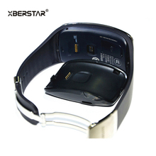 XBERSTAR Charger for Samsung Gear S Smart Watch SM-R750 with USB cable Charging Cradle Dock