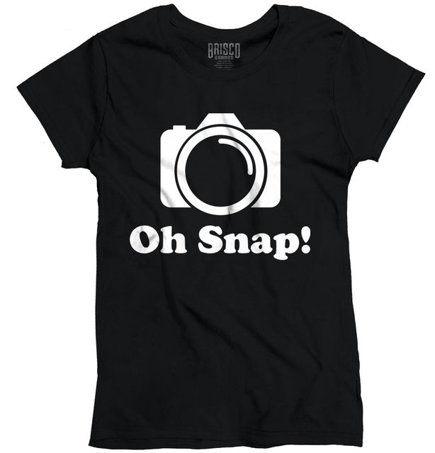 46f4434e Funny Photographer T-Shirt Holiday Gift Geek Camera Ladies T Shirt Sleeve  New Fashion Funny Brand Harajuku Top Tee