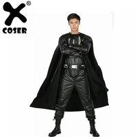 XCOSER Дарт Вейдер костюм для взрослых полный наряд для Хэллоуина Косплэй вечерние шоу костюм для Для мужчин для взрослых