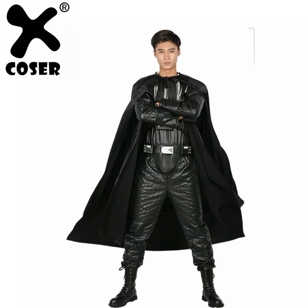 XCOSER Darth Vader Costume Adult Full Outfit for Halloween Cosplay Party Show Costume For Men Adult