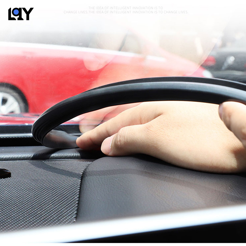 LQY 1 6M auto parts indoor front window rubber seal decorative strip Free shipping in Interior Mouldings from Automobiles Motorcycles