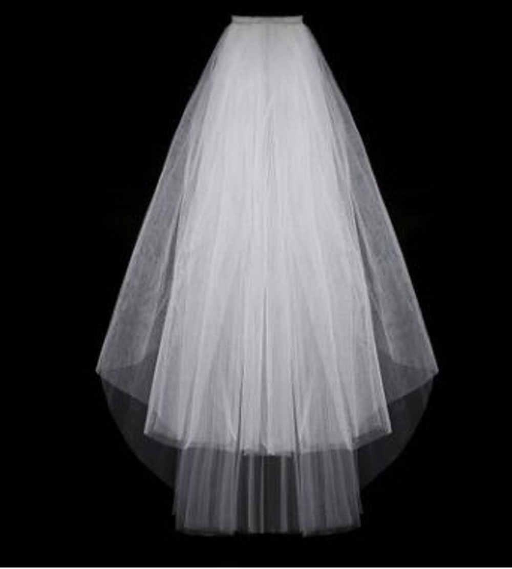 Wowbridal Einfache Kurze Tüll Hochzeit Schleier Billig 2016 Weiß Elfenbein Braut Schleier für Braut für Mariage Hochzeit Zubehör