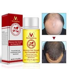 20ml Men and Women Moroccan Hair Growth Nut Essential Oils Hair Faster Grow Oil