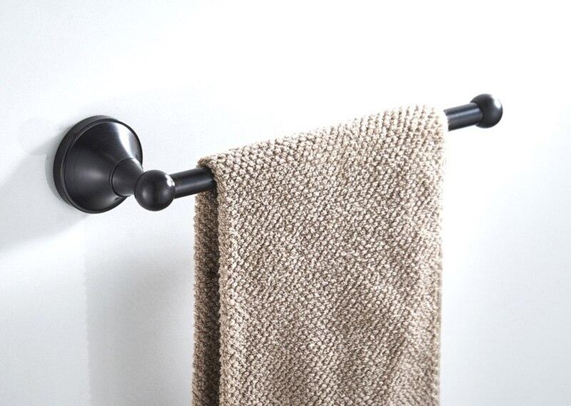 black towel ring towel bar towel holder 1